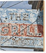 Home Cookin Wood Print