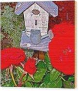Home Tweet Home Wood Print