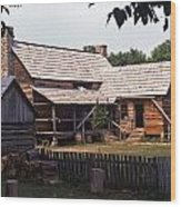 Homeplace - 7 Wood Print