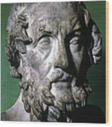 Homer (9th-8th Century B.c.) Wood Print by Granger