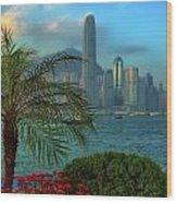 Hong Kong Mornings Wood Print