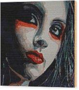 Honky Tonk Woman Wood Print