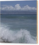 Honokohau Aloalo Aheahe D T Fleming Beach Maui Hawaii Wood Print
