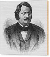 Honore De Balzac (1799-1850) Wood Print by Granger