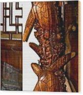 Honu Sea Turtles Wood Print by Karon Melillo DeVega