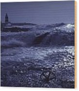 Hook Head, County Wexford, Ireland Wood Print