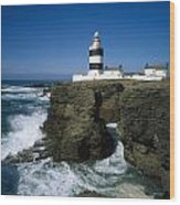 Hook Head Lighthouse, Co Wexford Wood Print