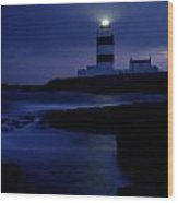 Hook Head Lighthouse, County Wexford Wood Print