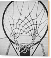 Hoop Dreams Wood Print