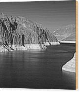 Hoover Dam Reservoir - Architecture On A Grand Scale Wood Print