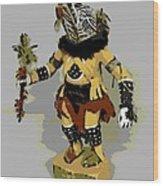 Hopi Dancer Wood Print
