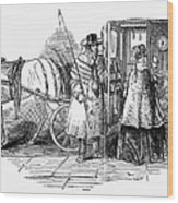 Horse Carriage, 1847 Wood Print