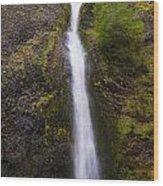 Horsetail Falls Oregon Wood Print