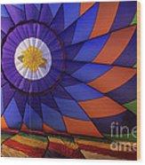 Hot Air Balloon 13 Wood Print