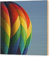 Hot Air Balloon 3 Wood Print