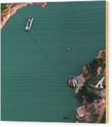 Hot Air Balloon Festival Wood Print by Jim McKinley