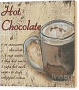 Hot Chocolate Wood Print