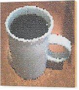 Hot Coffee 03 Wood Print