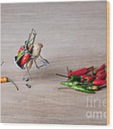 Hot Delivery 02 Wood Print by Nailia Schwarz