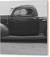 Hot Rod Pickup Wood Print