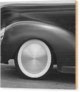 Hot Rod Wheels Wood Print