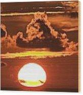 Hot Sunrise 2 Wood Print