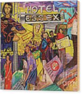 Hotel Essex  Wood Print