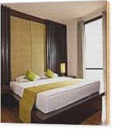 Hotel-room Wood Print