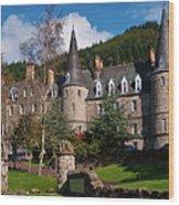 Hotel Tigh Mor Trossachs. Perthshire. Scotland Wood Print