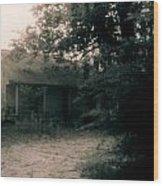 House- Delta Louisiana Wood Print