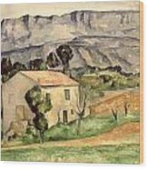 House In Provence Wood Print