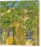 House In The Barrio Wood Print