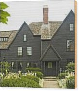 House Of 7 Gables Wood Print