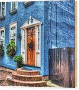 House Of Blues Wood Print
