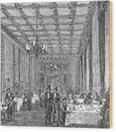 House Of Commons, 1854 Wood Print