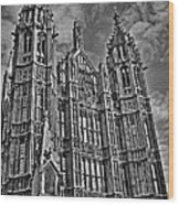 House Of Lords Wood Print