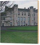 House Of The Binns Wood Print
