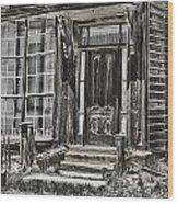 House Of Windows Wood Print