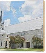 House Of Worship Wood Print