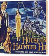 House On Haunted Hill, Left Vincent Wood Print