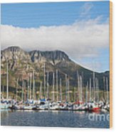 Hout Bay Harbour Wood Print