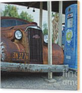 How Long Have You Been Waiting For Gas Wood Print