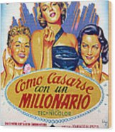 How To Marry A Millionaire, Betty Wood Print