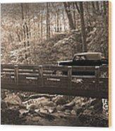 How To Tour Mountains Wood Print