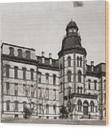 Howard University Was Founded In 1867 Wood Print by Everett