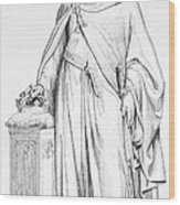 Hugh Capet (c938-996) Wood Print