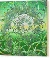 Hula Wood Print