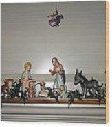 Hummel Nativity Set Wood Print