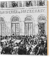 Hungarian Home Rule, 1848 Wood Print by Granger