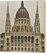 Hungarian Parliment Building Wood Print